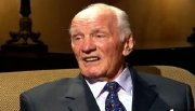 Sir Henry Cooper appearing on the 'Inside Sport' interview about his controversial last fight against Joe Bugner