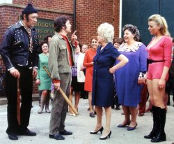 Kenneth Cope as Vic Spanner in Carry On at Your Convenience