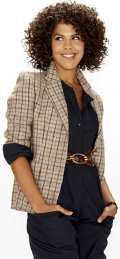 Lenora Crichlow as Ali Redcliffe in 'Material Girls'