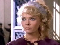 Sara Crowe as Fatima in 'Carry On Columbus'