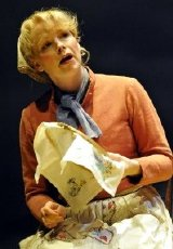 Sara Crowe as Emma in the stage version of 'Lark Rise to Candleford' (2010)