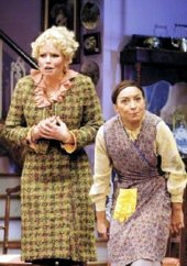 Sara Crowe & Ria Jones in 'Acorn Antiques the Musical' (2007)