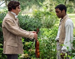 Benedict Cumberbatch & Chiwetile Jiofor in '12 Years a Slave' (2013)