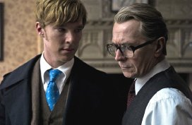 Benedict Cumberbatch & Gary Oldman in 'Tinker Tailor Soldier Spy' (2011)