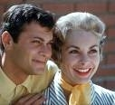 Tony Curtis and first wife Janet Leigh