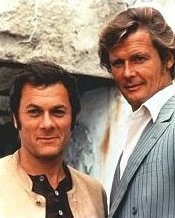 Tony Curtis and Roger Moore in 'The Persuaders'