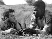 Tony Curtis and Sidney Poitier in 'The Defiant Ones'