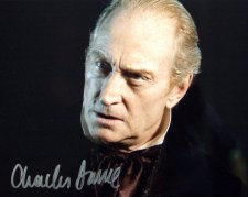 Signed photo of Charles Dance as Tulkinghorn in 'Bleak House'