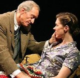 Charles Dance and Janie Dee in 'Shadowlands' at Wyndham's Theatre