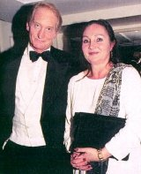 Charles Dance and his ex-wife Jo