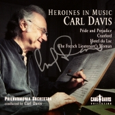 Carl Davis - signed copy of his cd 'Heroines in Music'