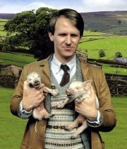 Peter Davison as Tristan Farnon in 'All Creatures Great and Small'