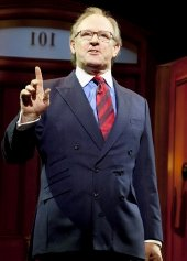 Peter Davison as Professor Callahan in the stage play 'Legally Blonde' (2010)