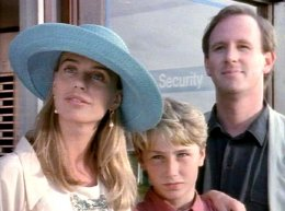 Serena Scott Thomas, Tom Beasley & Peter Davison in 'Harnessing Peacocks' (1993)