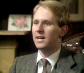 Peter Davison as Tom Holland in 'Love for Lydia' (1977)