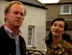 Peter Davison & Yvette Rowland in 'Distant Shores' (2005-2008)