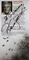 Programme for 'King Lear' signed by Derek Jacobi