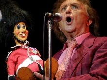 Ken Dodd in the Christmas Happiness Show at The Royal Concert Hall, Nottingham, on 27th December 2007