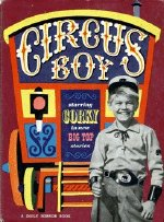 Micky Dolenz on the cover of a 'Circus Boy' annual