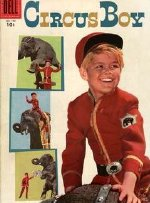 Micky Dolenz on the cover of a 'Circus Boy' comic