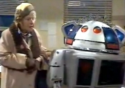 Irene Handl in 'Metal Mickey' the children's TV series directed by Micky Dolenz
