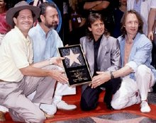 The Monkees given their Hollywood 'Walk of Fame' star in 1989