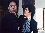 Chuck Patterson & Micky Dolenz in 'The Night of the Strangler'