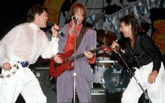 Micky Dolenz, Peter Tork & Davy Jones on The Monkees' 20th Anniversary Tour in 1986