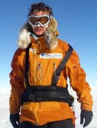 Richard Dunwoody at the South Pole