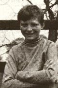Richard Dunwoody aged 12