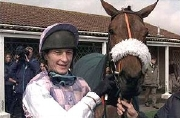 Richard Dunwoody with Yorkshire Edition after the record-breaking 1,679th win at Wincanton in 1999