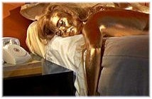 Shirley Eaton as Jill Masterson in Goldfinger