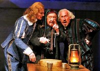 Charles Edwards, David Ryall & Simon Callow in 'Twelfth Night' (2011)