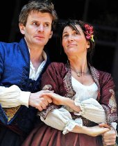 Charles Edwards & Eve Best in 'Much Ado About Nothing' (2011)