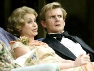 Charles Edwards & Kim Medcalf in Noel Cowerd's 'Hay Fever' (2006)