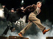 Charles Edwards & Rupert Degas in 'The 39 Steps'