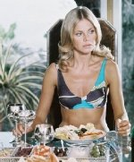 Britt Ekland as Mary Goodnight in 'The Man With The Golden Gun'