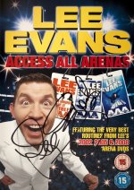 Lee Evans signed 'Access All Arenas' dvd