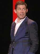 Lee Evans with a wet suit!