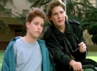 Corey Feldman & Corey Haim in 'License to Drive' (1988)