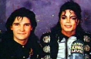 Corey Feldman with Michael Jackson