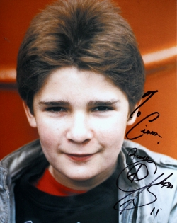 Corey Feldman signed photograph of him as Mouth in 'The Goonies' (1985)