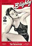 Shirley Ann Field was one of the biggest pin-ups of the 1950s. She featured on this 22 May 1954 cover of 'Blighty' magazine