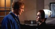 Shirley Anne Field & Michael Caine in 'Alfie'