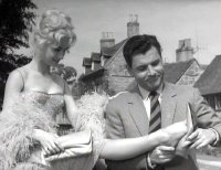 Shirley Anne Field & Kenneth More in 'Man in the Moon'