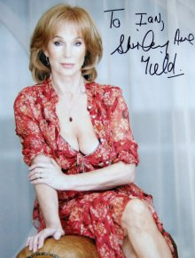 Shirley Anne Field signed photograph