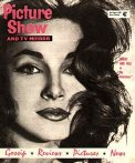 Shirley Ann Field featured on the 4th August 1960 cover of 'Picture Show' magazine