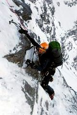 Sir Ranulph Fiennes tackles the Eiger
