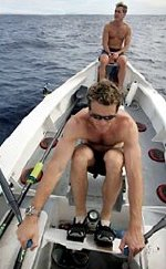 James Cracknell takes the oars in 'The Spirit of EDF Energy'