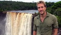 Ben Fogle at the Kaieteur Falls in Guyana for the TV series 'Extreme Dreams'